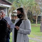 Desagravo Público realizado em Criciúma, em defesa do advogado Elias Trevisol