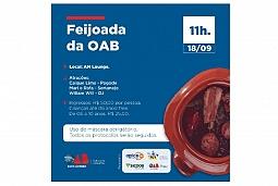 Feijoada organizada pela OAB Criciúma ocorre neste sábado
