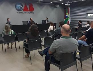 ACP do Carvão é pauta de reunião na OAB Criciúma