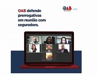 OAB defende prerrogativas em reunião com seguradora